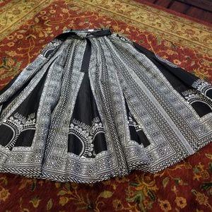 Dresses & Skirts - African Black multi Maxi Skirt